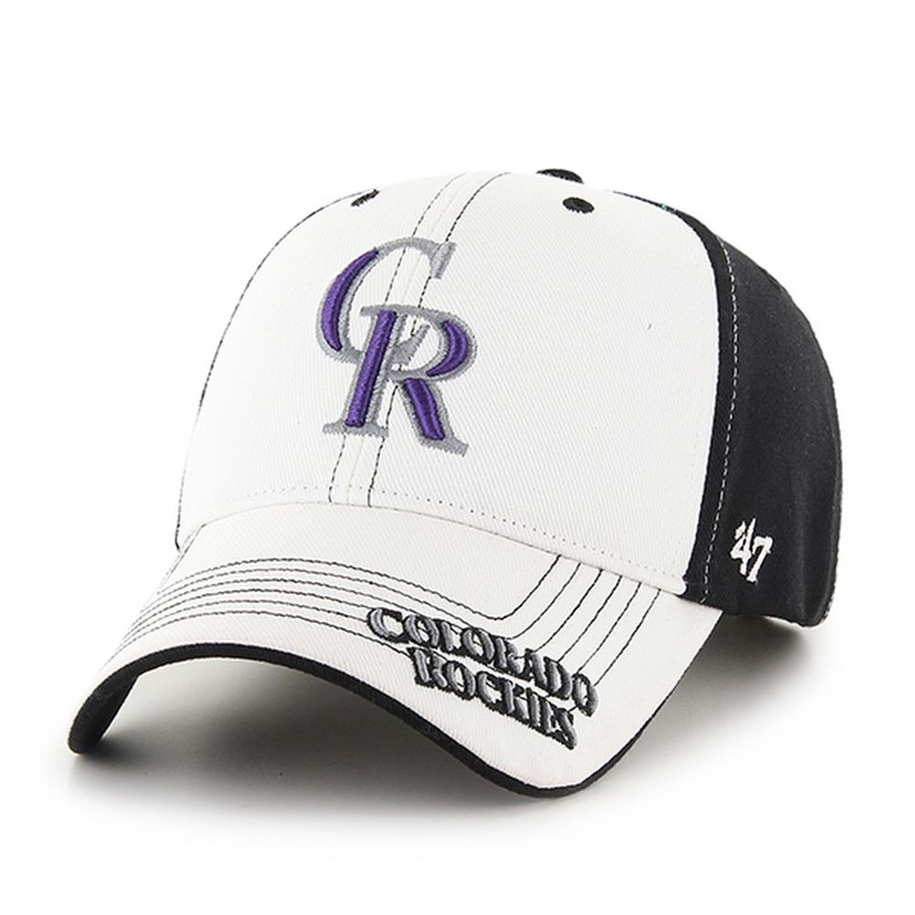 6e42c683142 Youth Colorado Rockies Adjustable Structured Fit Hat - Walmart.com