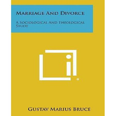 Marriage and Divorce: A Sociological and Theological Study - image 1 de 1