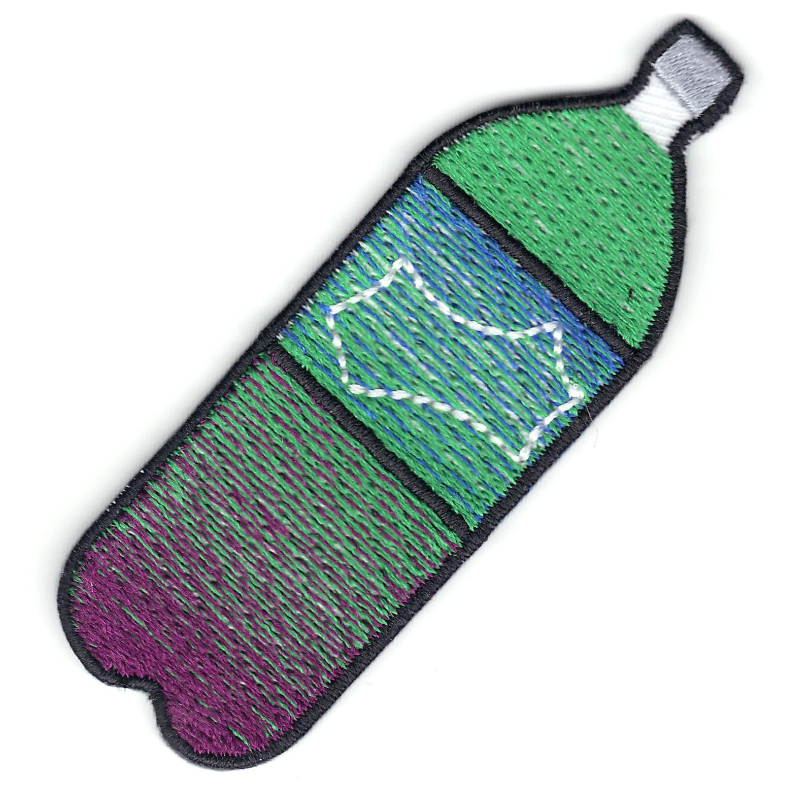 Purple Drank Syrup 2 Liter Soda Bottle Emoji Iron On Patch