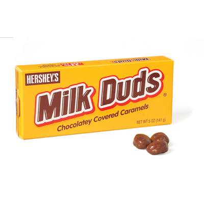 Milk Duds Candy: 5 oz. 12 count