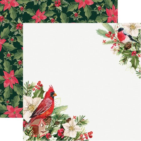 "Peace & Joy Double-Sided Cardstock 12""X12""-Rejoicing - image 1 de 1"