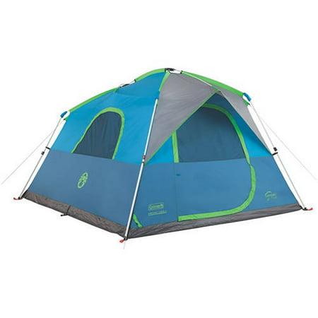 Coleman Signal Mountain 6 Person Instant Tent Walmart Com