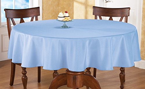 Collections Etc Basic 70 Inch Round Tablecloth