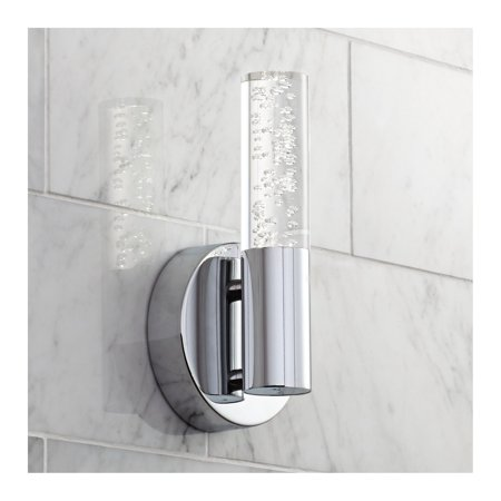 9 Led Wall Sconce - Possini Euro Design Natalya Bubble Acrylic Tube 9