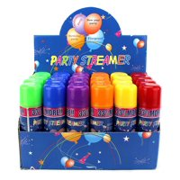 24 Pack of Party Silly String in a Can Children's Kid's Party Supplies, Perfect for Parties/Events