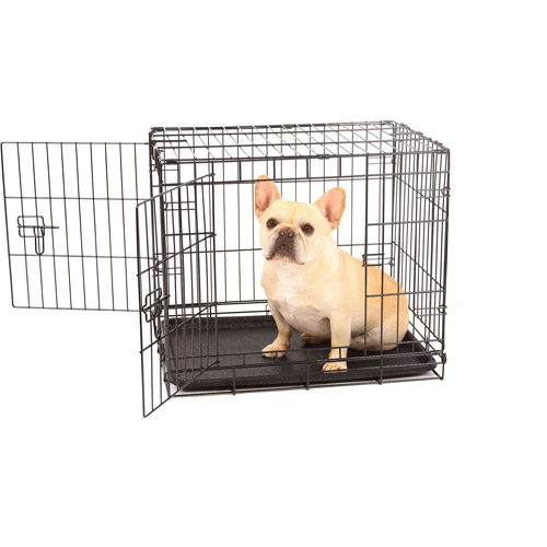 Carlson Compact and Secure Double Door Metal Dog Crate
