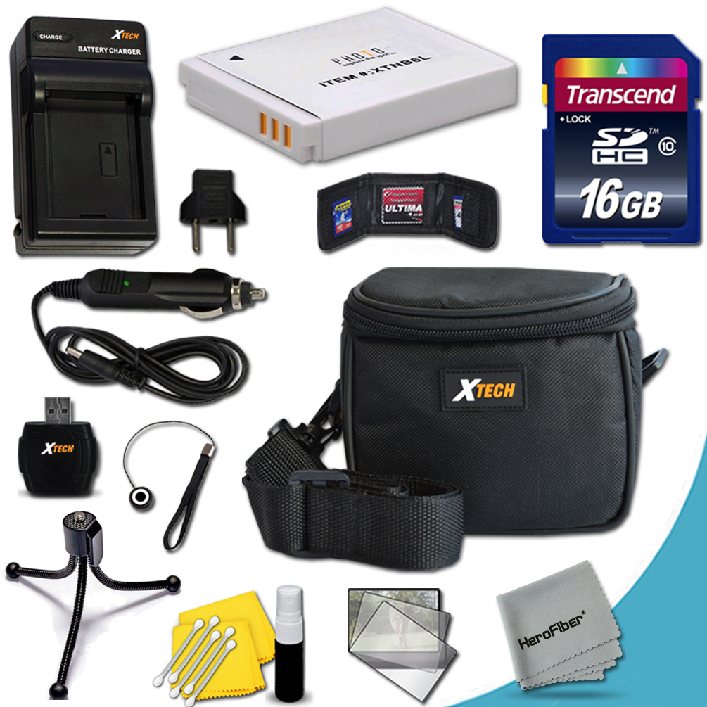 Ideal Accessory Kit for Canon Powershot SX710 IS, SX530 HS, SX610 HS, SX710 HS, SX600 HS, SX700 HS, SX520 HS, SX510 HS, SX500 IS, SX280 HS, SX260 HS, SX170 IS, SD1300 IS, SD980, D30, D20, D10