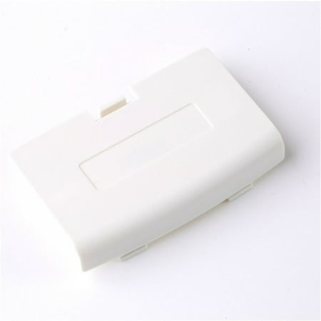 White Nintendo Game Boy Advance (GBA) Replacement Battery Cover Lid Game Boy Colored Battery