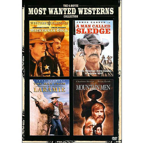 The 4-Movie Most Wanted Westerns: Mackenna's Gold / A Man Called Sledge / The Man From Laramie / The Mountain Men