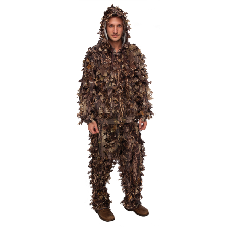 - Master Sportsman Leafy Die-Cut Suit Small/Medium HD Camo