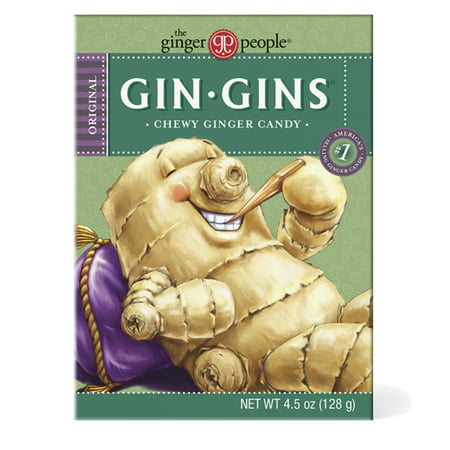 Beefeater Gin (Gin Gins, Original Chewy Ginger Candy, 4.5)