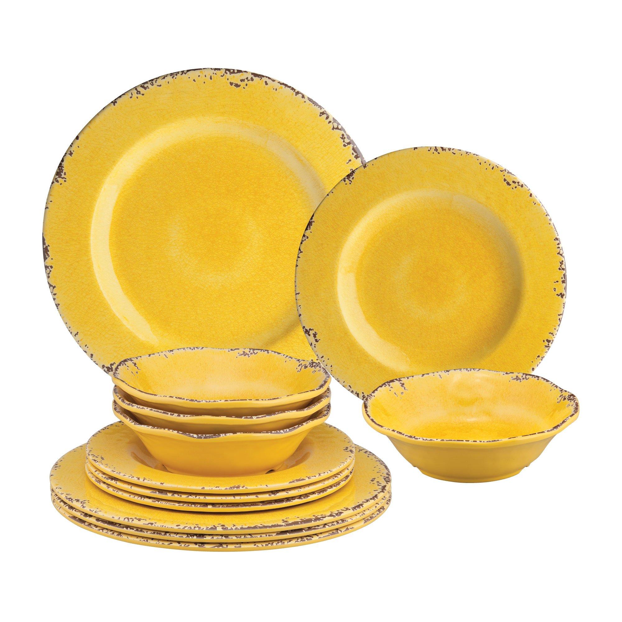 Yellow Denim 8 Dinner Plate
