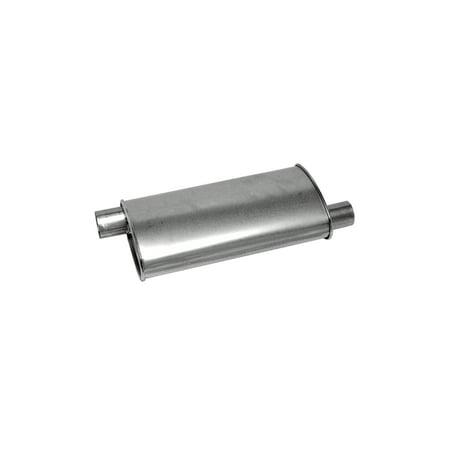 Walker Exhaust 18105 Exhaust Muffler Oe Replacement  2 Inch Inlet   Outlet