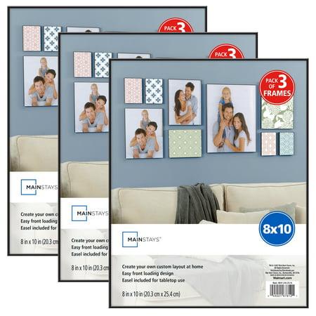 Mainstays 8x10 Format Frame, Set of 3