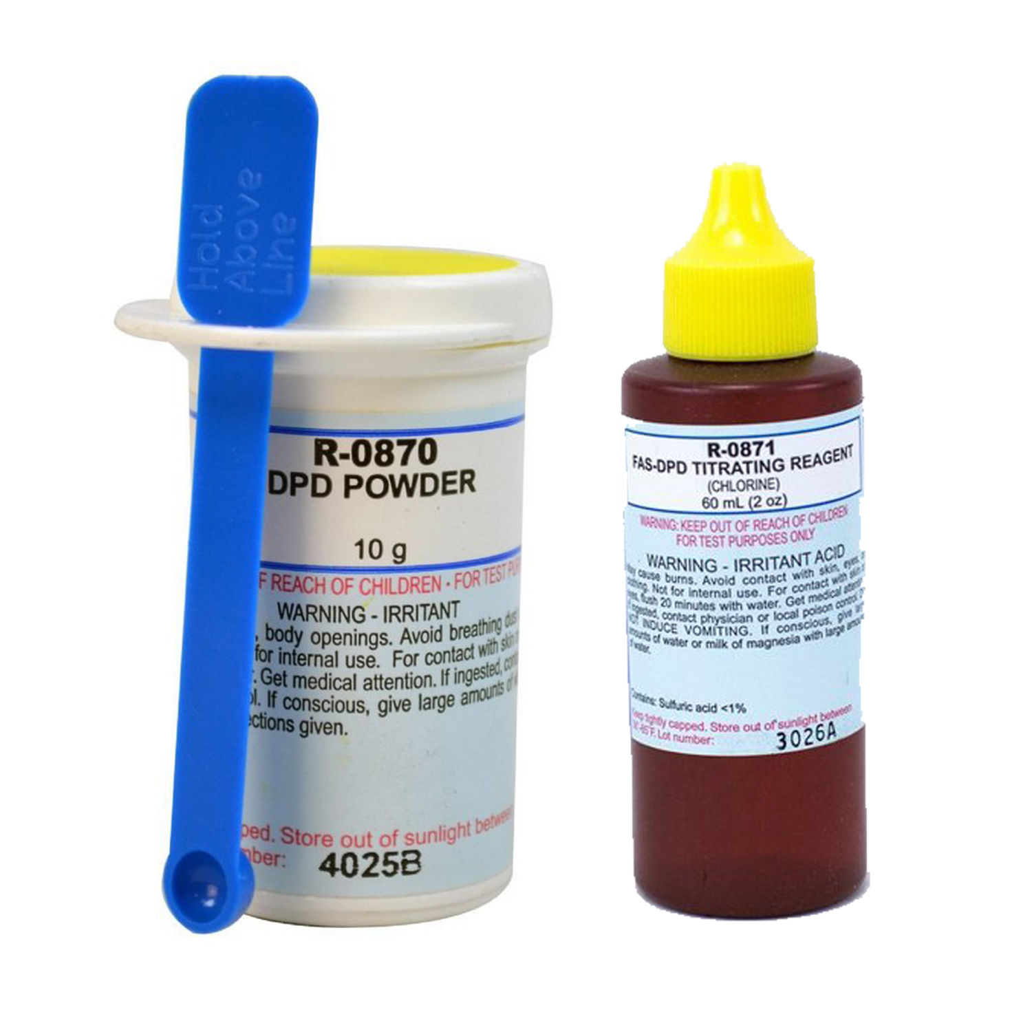 Taylor Replacement DPD 10-Gram Powder w/ 2-Ounce Titrating Reagent for Chlorine