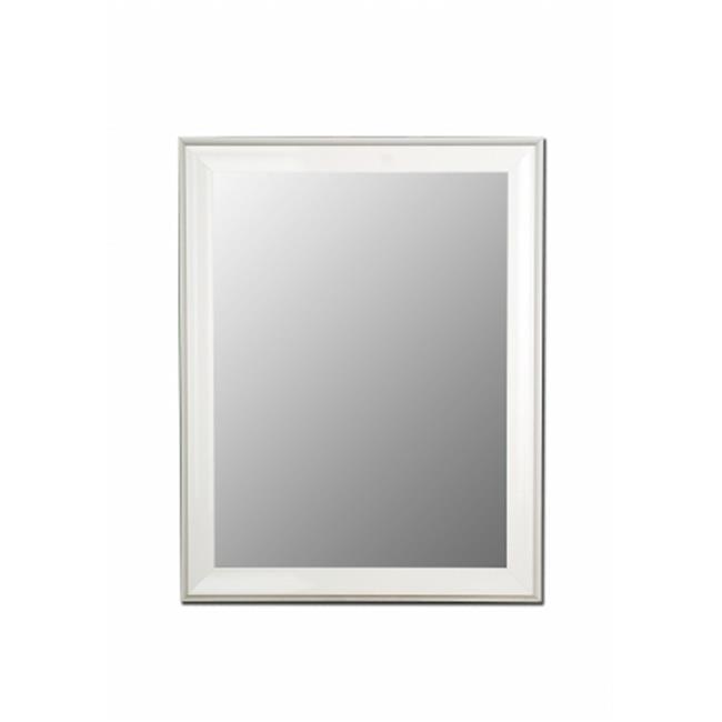 2nd Look Mirrors 205707 38x77 Glossy White Grande Mirror