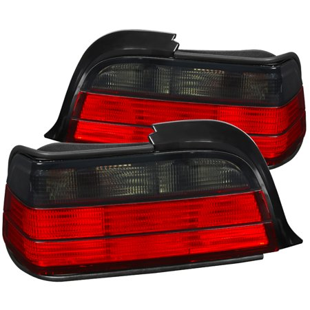 Spec-D Tuning 1992-1998 Bmw E36 3-Series 2Dr Tail Lights Brake Lamps 1992 1993 1994 1995 1996 1997 1998 (Left + Right)