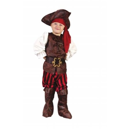 Costumes For All Occasions Fw1555 High Seas Pirate Toddler Boy - Toddler Pirate Costumes