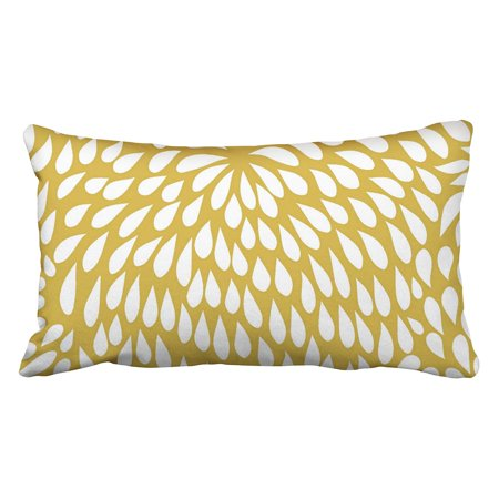 Wopop Modern Tribal Paisley Boho Flower In Mustard And