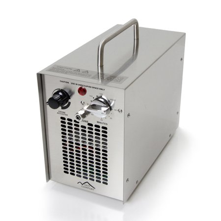 Stainless Steel Commercial Water H2O Ozone Generator Air Purifier 5000 MG Industrial Strength
