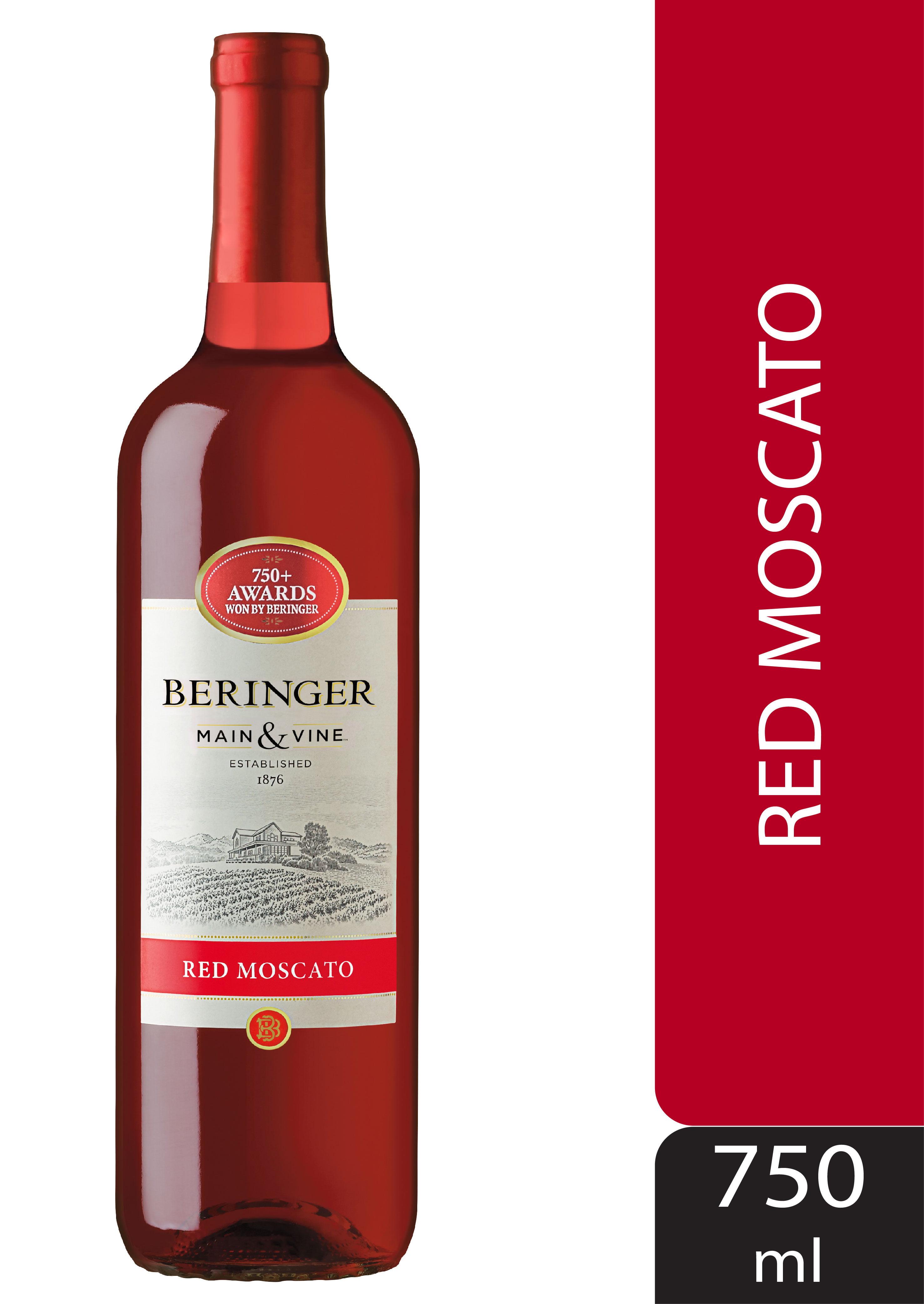 Beringer Main Vine Red Moscato 750ml Walmart Com Walmart Com