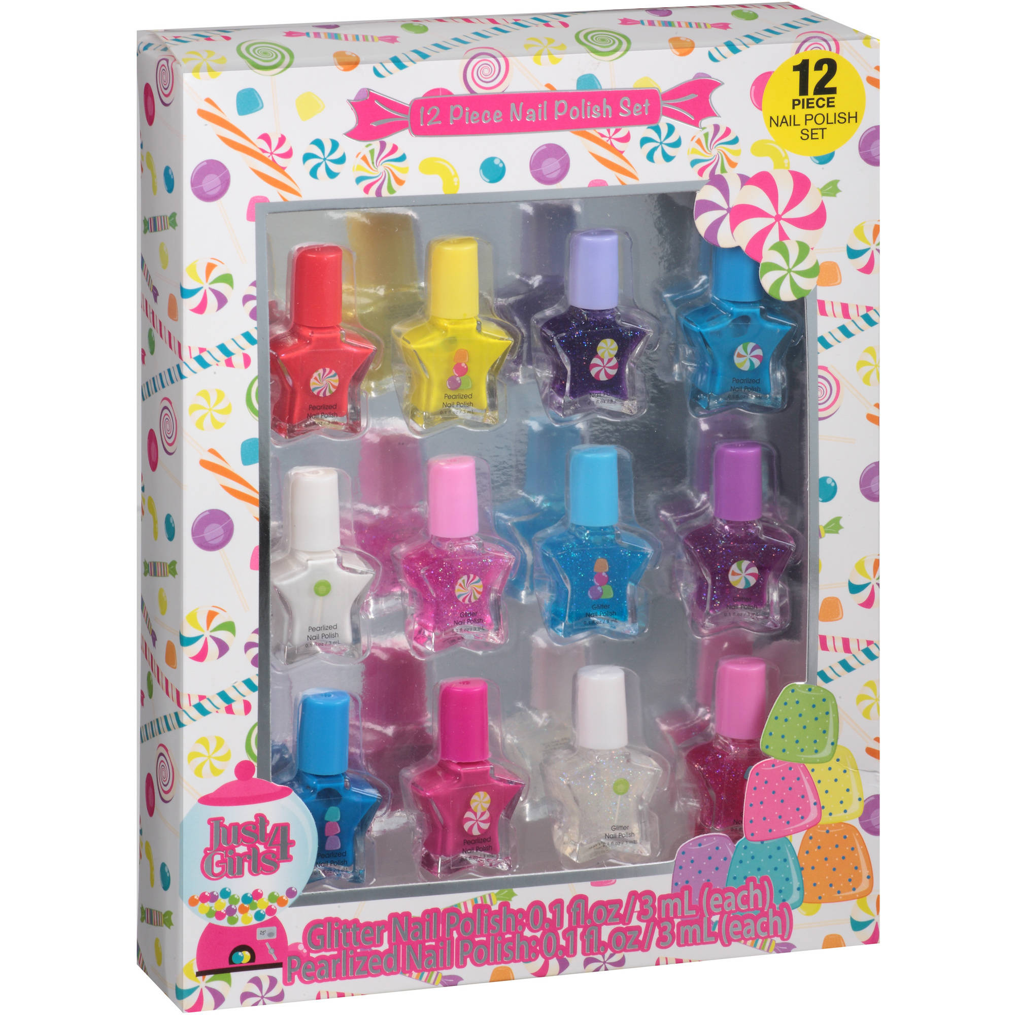Nail Polish Kit For Tweens
