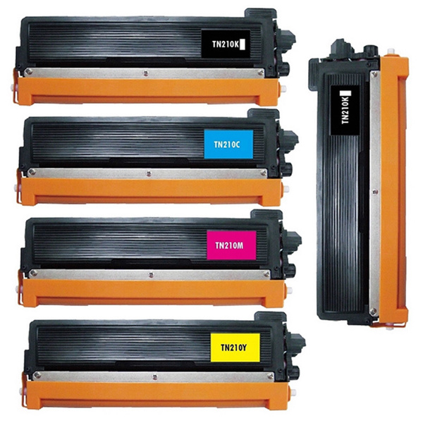 5pk TN210 TN-210 Toner For Brother MFC-9010CN MFC-9120CN MFC-9125CN MFC-9320CW