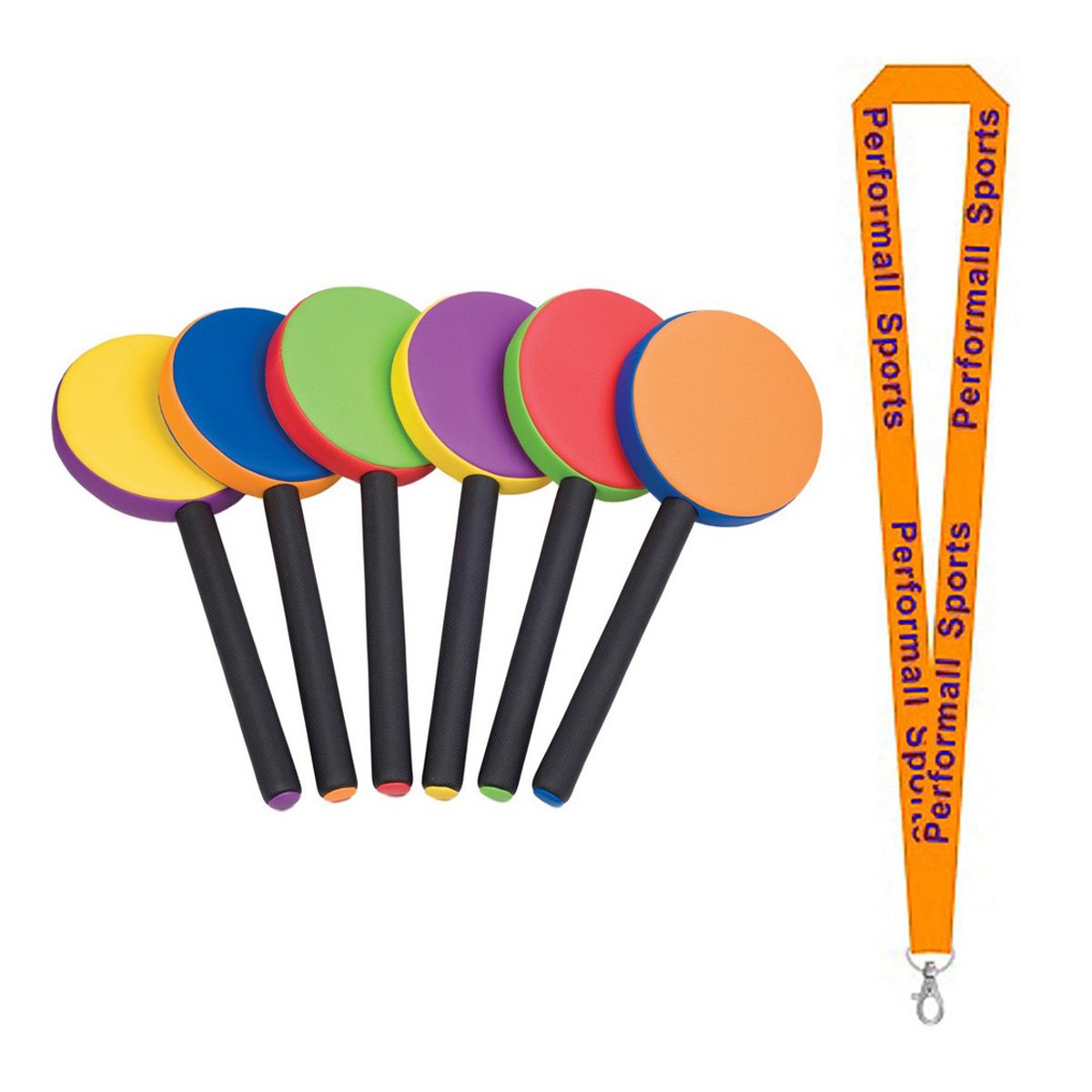 Champion Sports Bundle: (Set of 6) Rhino Skin Racket Set ...