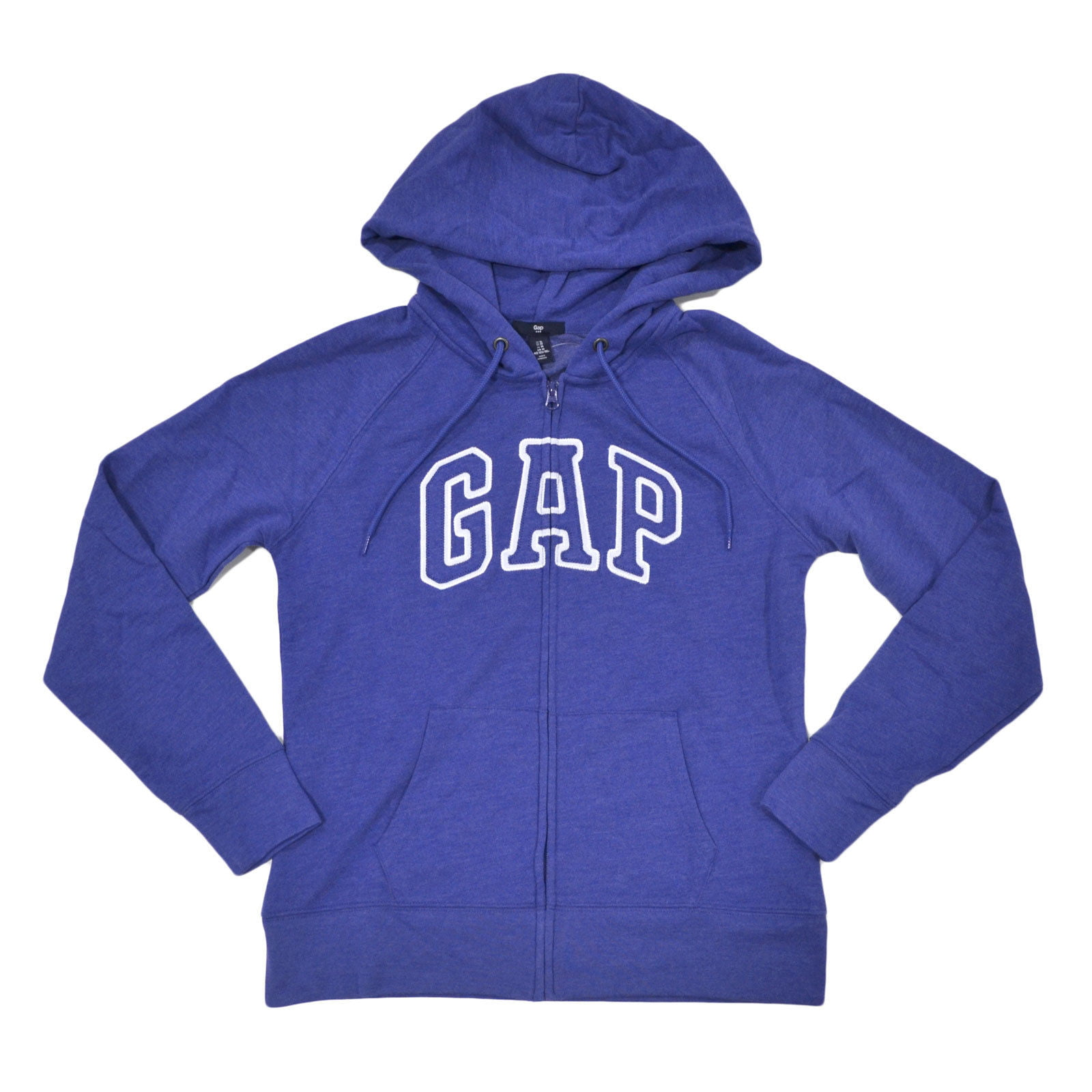 GAP ARCH LOGO Zip Hoodie Sweatshirts Oatmeal Heather  SWEATER JACKET MEN  NEW