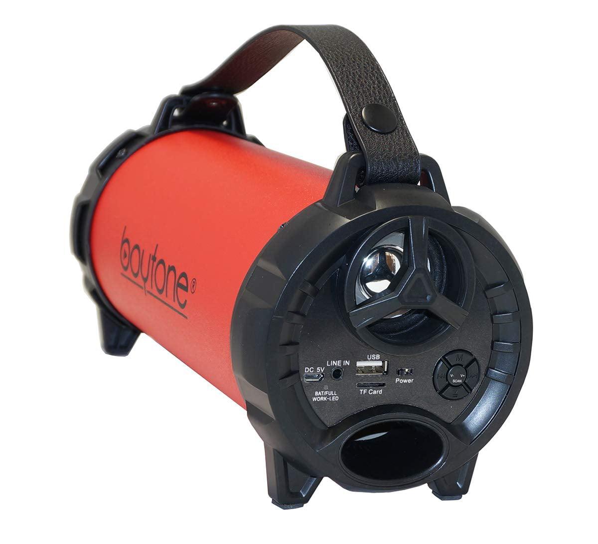 Boytone BT-40RD Portable Bluetooth Indoor/Outdoor Speaker - Red