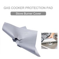 Gas Cooker Protection Pad Covers Gas Range Cushion Non-Stick Reusable Washable for Kitchen Gas