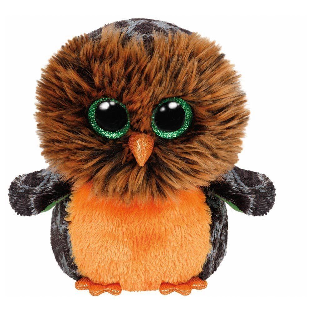 Ty Medium Midnight the Owl Halloween Beanie Boos Stuffed Plush Animal Toy 9: