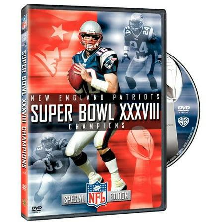 NFL Super Bowl XXXVIII (DVD)