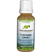 NativeRemedies K-OK Kiddie Calmer for Separation Anxiety Homeopathic Pilules, 0.71 Oz