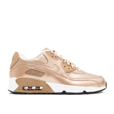 super popular 4c22e 2f188 Nike - Unisex - Air Max 90 Se Ltr (Gs) 'Metallic Bronze' - 859633 ...
