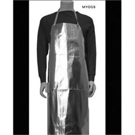 Make Your Own Gold Bars 19282 24 x 36 in. Reflective Bib Apron & Furnace Heat Protection Melt Gold Silver