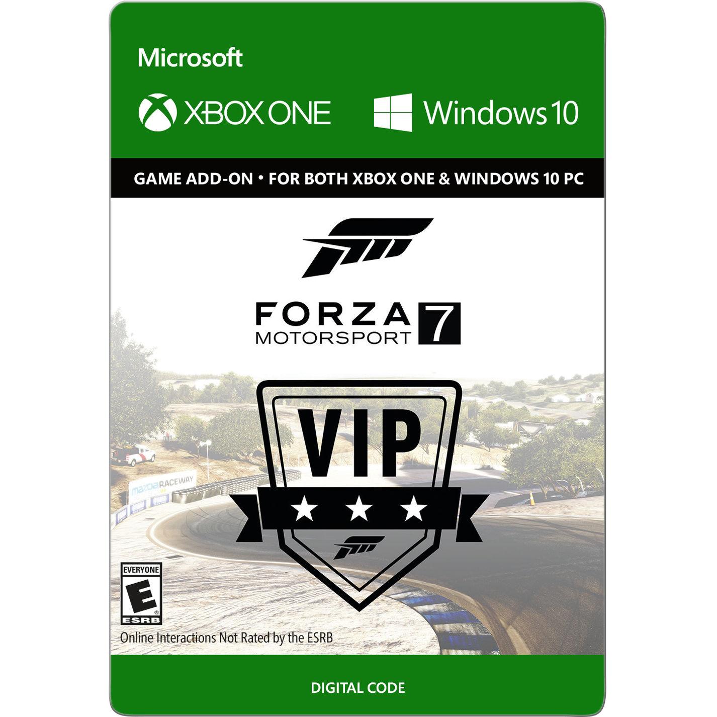 Xbox One and Win 10 Forza Motorsport 7: VIP Membership (email delivery)