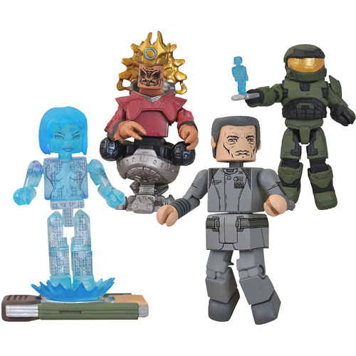 Halo Minimates Series 4-Piece Set