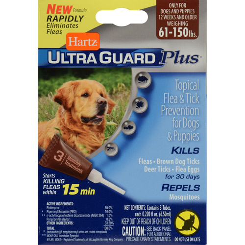 Hartz UltraGuard Plus Flea & Tick Treatment For Dogs And Puppies