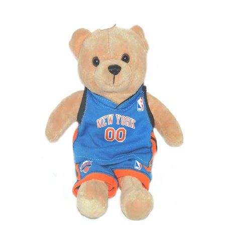 New York Knicks Bear with Jersey 9 in, Case of 24 - Bull And Bear Chicago Halloween