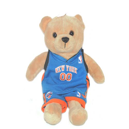 New York Knicks Bear with Jersey 9 in, Case of 24