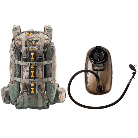 Tenzing TZ 4000 Hunting Day Pack (Kryptek Camo) with 2.0L Hydration ...