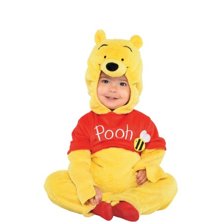 Suit Yourself Winnie the Pooh Costume for Babies, Includes a Soft Jumpsuit and a Pooh Face Hood - Winnie The Pooh Costume Baby