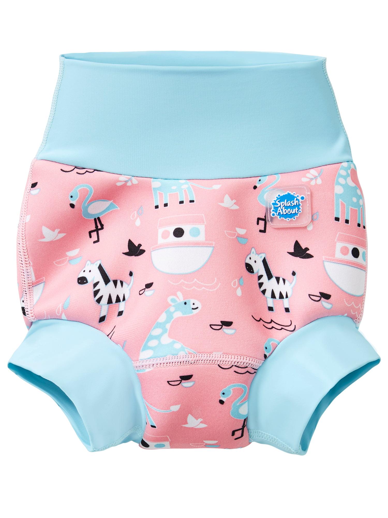 2 Pack Two Bare Feet Reusable Swim Nappy//Swim Shorts Neoprene Lycra Swim Nappy: Mint, S 6-12months