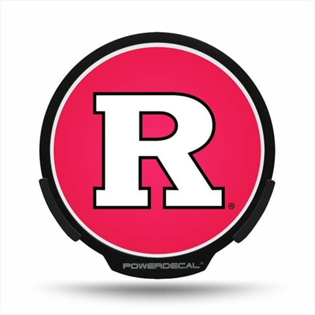 AXIZ GROUP PWR270201 LED Light-Up Decal Rutgers Scarlet Knights