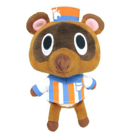 Sanei Animal Crossing New Leaf Doll Timmy Convenience Store Clerk 5.5
