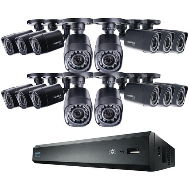 Lorex LHV00162TC16B 16-Channel MPX 2TB HD-DVR With 16 720...
