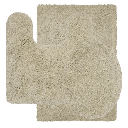 Better homes and gardens nylon thick and plush 3 piece - Better homes and gardens bathroom rugs ...