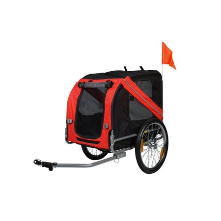 - Buy-Hive Pet Bicycle Trailer Foldable Dog Cat Bike Carrier Stroller Jogger Shopping Wagon