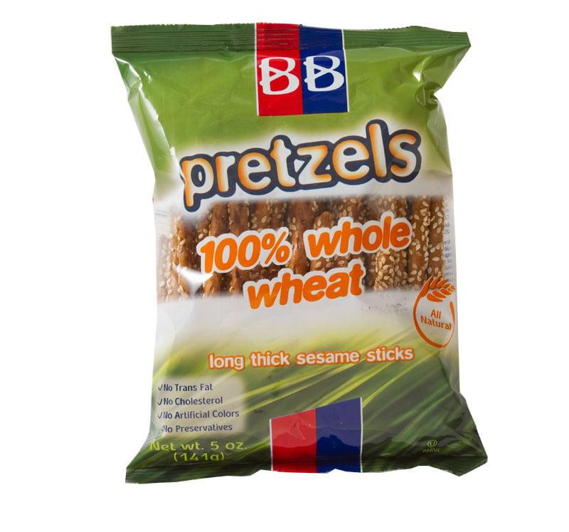 BB Pretzels 100% Whole Wheat Sesame, 5.0 OZ by Beigel & Beigel